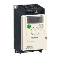 Schneider Electric - SCHNEİDER ELECTRİC 0,37 KW 200/240V AC MONOFAZE MOTOR HIZ KONTROL CİHAZI 3606480071058 ATV12H037M2