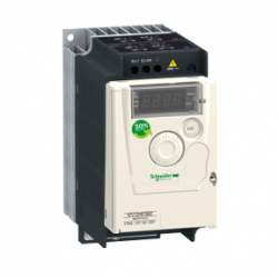 Schneider Electric - SCHNEİDER ELECTRİC 0,75 KW 200/240V AC MONOFAZE MOTOR HIZ KONTROL CİHAZI 3606480071072 ATV12H075M2