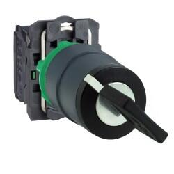 Schneider Electric - 1-0-2 YAYLI SİYAH MANDAL BUTON 3389110903461
