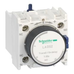 Schneider Electric - 1-30 SN LC1D-LC1F VE CAD İÇİN PNÖMATİK ZAMAN RÖLESİ YILDIZ-ÜÇGEN DEVRESİ İÇİN ÇEKME GECİKTİRMESİ YAYLI KLEMENS BAĞLANTI 3389110386103