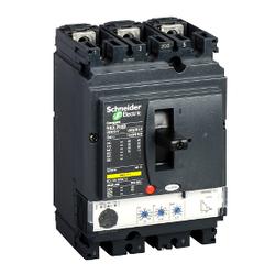 Schneider Electric - 100-250 NSX250N 3 KUTUP 380V AC 50KA KOMPAK ŞALTER 3606480012822