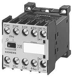 Siemens - 110V AC 4A 2NO+2NC YARDIMCI KONTAKTÖR 4011209045248