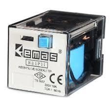 Emas - EMAS 12VDC RÖLE 3 KONTAK11 PİN RE1P11DC012