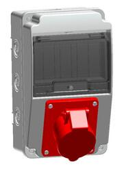 TP Electric - 130X220 5X16 IP44 MAKİNE PRİZİ ÖN 8693151118063