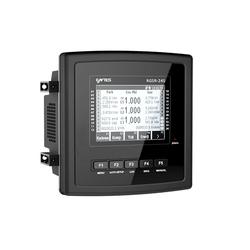 Entes - RGA-15 144X144 85V-300V AC/DC GRAFİK LCD'Lİ REAKTİF GÜÇ KONTROL RÖLESİ M3772 8699421408599