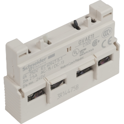 Schneider Electric - SCHNEİDER ELECTRİC TESYS GV2 VE GV3 YARDIMCI KONTAK 1 NA + 1 NK 3389110343434