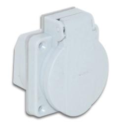 TP Electric - TP ELECTRİC PANO PRİZİ GRİ 1X16 8693151301410