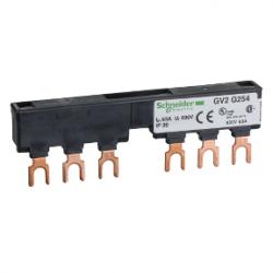 Schneider Electric - SCHNEİDER ELECTRİC 2 ADET GV2 BESLEME İÇİN BESLEME BARASI 3 KUTUPLU 54MM ADIM GENİŞLİĞİ 3389110555936