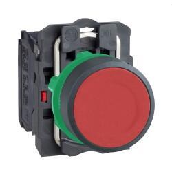 Schneider Electric - 22 MM 1NK KIRMIZI YAYLI BUTON 3389110903423
