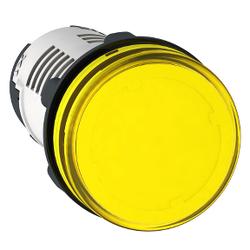 Schneider Electric - YUVARLAK PİLOT IŞIĞI ÇAP 22 SARI ENTEGRE LED 230 V VİDA KELEPÇ TERMİNALİ 3389110839777