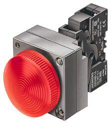 Siemens - SİEMENS SİNYAL LEDLİ KIRMIZI 230VAC 4011209522640
