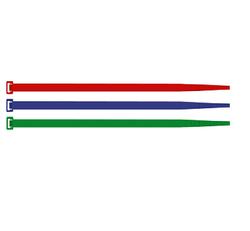 Şafak Elektrik - ŞAFAK ELEKTRİK 280X3,5 KIRMIZI KABLO BAĞI SAPİ SELCO (100 ADET) 8014748306418