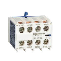 Schneider Electric - SCHNEİDER ELECTRİC TESYS K YARDIMCI KONTAK BLOĞU 2 NA + 2 NK VİDA KELEPÇESİ TERMİNALLERİ 3389110500110