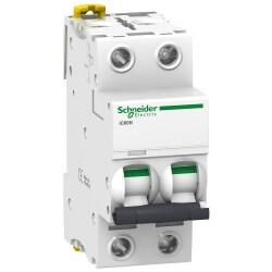 Schneider Electric - SCHNEİDER ELECTRİC 2X4A 6KA C TİPİ İC60N OTOMAT 3606480080357