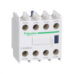 Schneider Electric - SCHNEİDER ELECTRİC TESYS D YARDIMCI KONTAK BLOĞU 3 NA + 1 NK VİDA KELEPÇESİ TERMİNALLERİ 3389110384178