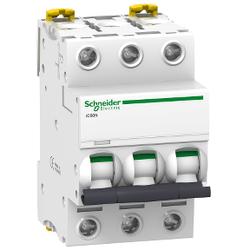 Schneider Electric - SCHNEİDER ELECTRİC 3X2A 6KA C TİPİ İC60N OTOMAT 3606480080364
