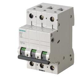 Siemens - SİEMENS OTOMATİK SİGORTA C 6A 3FAZ , 10KA 70MM 4001869440491