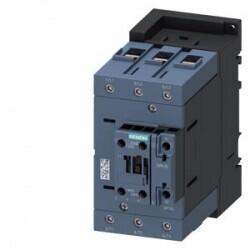 Siemens - 230V AC 45 kW 95A. 1NO+1NC S3 BOBİNLİ 1NO+1NC ÜÇ FAZLI SIRIUS KONTAKTÖR 4047621022239