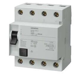 Siemens - SİEMENS KAÇAK AKIM RÖLESİ 3X125A 300MA , 3F+N 70 MM 4001869199566