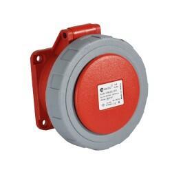 TP Electric - TP ELECTRİC MAKİNE PRİZİ 4X32A IP67 (75X75)SABİT FLANŞ 8693151660173