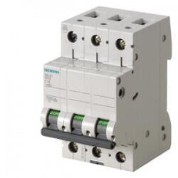 Siemens - SİEMENS OTOMATİK SİGORTA C 50A 3FAZ , 10KA 70MM 4001869440583