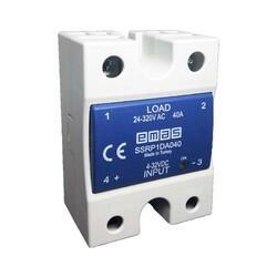 Emas - EMAS 50A SOLİD STATE RÖLE INPUT 4-32VDC, OUTPUT 50-640VAC SSRP1DC050