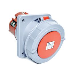 TP Electric - 5X125AMP IP67 EĞİK MAKİNE PRİZİ