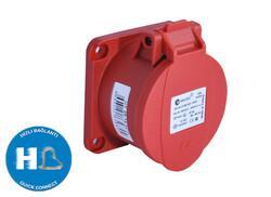 TP Electric - TP ELECTRİC DÜZ MAKİNE PRİZİ 5X16A (70X70) 8693151662221