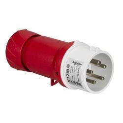Schneider Electric - SCHNEİDER ELECTRİC 5X16AMP DÜZ FİŞ IP44 3P+N+PE VİDALI BAĞLANTI 3303432032142