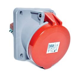 TP Electric - 5X63A IP44 YAYLI KAPAKLI MAKİNE PRİZİ EĞİK