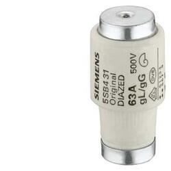 Siemens - SİEMENS DİAZED SİGORTA BUŞONU 63 AMPER 4001869021317