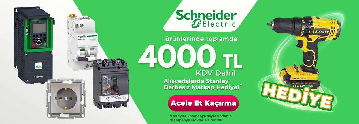 Schneider Electric Şarjlı Matkap Kampanyası