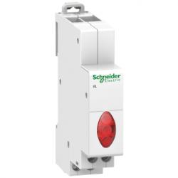 Schneider Electric - SCHNEİDER ELECTRİC TRİFAZE GERİLİM GÖSTERGE IŞIĞI KIRMIZI ACTİ9 İIL 230-400VAC 3606480088391