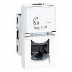 Legrand - LEGRAND ARMADA 1 MODÜL RJ11-4 KONTAK TELEFON PRİZİ 3245060787301