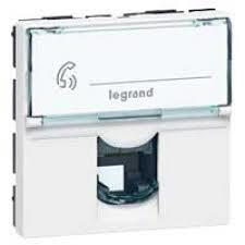 Legrand - ARMADA RJ11-4 KONTAK 2 MODÜL 3245060787318