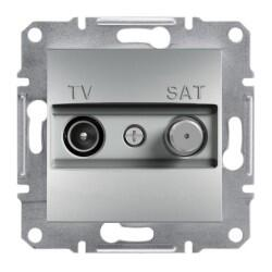 Schneider Electric - ASFORA ALÜMİNYUM ÇERÇEVESİZ TV/SAT PRİZ 1 DB 3606480728808