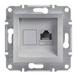 Schneider Electric - SCHNEİDER ELECTRİC ASFORA ALÜMİNYUM ÇERÇEVESİZ UTP DATA PRİZ 3606480728907