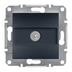 Schneider Electric - ASFORA ANTRASIT TEKLI ÇERÇEVESİZ TV PRİZİ 1 DB 3606480729560