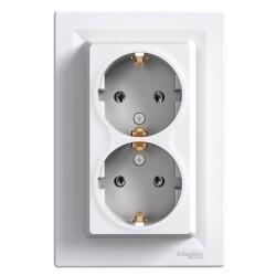 Schneider Electric - ASFORA BEYAZ İKİLİ TOPRAKLI PRİZ 3606480527753