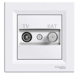 Schneider Electric - ASFORA BEYAZ TV/SAT PRİZ 8DB 3606480526589
