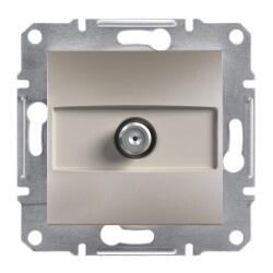 Schneider Electric - ASFORA BRONZ TEKLİ SAT PRİZİ 1 DB 3606480727856