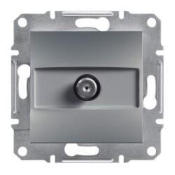 Schneider Electric - ASFORA ÇELİK SAT PRİZ 1 DB 3606480730467