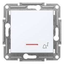 Schneider Electric - SCHNEİDER ELECTRİC EPH1770121 ASFORA BEYAZ ZİL İŞARETLİ LİHT BUTON