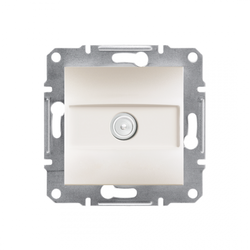 Schneider Electric - SCHNEİDER ELECTRİC EPH3270123 ASFORA KREM TV PRİZİ 1DB SONLU 3606480987151