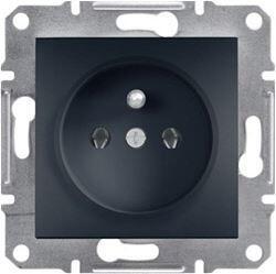 Schneider Electric - SCHNEİDER ELECTRİC ASFORA UPS PRİZ ANTRASİT