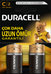 Duracell - DURACELL BASİC C MN1400 PİL 5000394076761