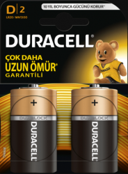 Duracell - BASİC D MN1300 PİL 5000394076716