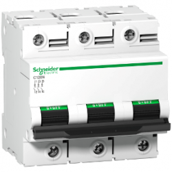 Schneider Electric - SCHNEİDER ELECTRİC C120N DEVRE KESİCİ 3P 100A C EĞRİSİ 3606480379406
