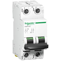 Schneider Electric - SCHNEİDER ELECTRİC C60H-DC 2P 4A DC OTOMAT 3606480424243