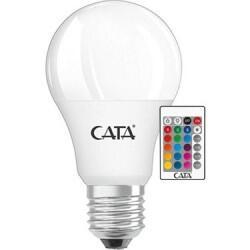 Cata - CATA 9W UZAKTAN KUMANDALI RGB LED AMPUL E27 2700K CT-4058